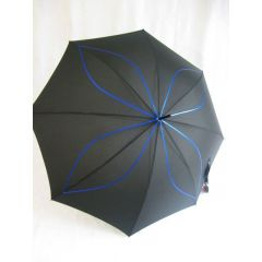 Pierre Cardin Stockschirm Regenschirm schwarz / blau