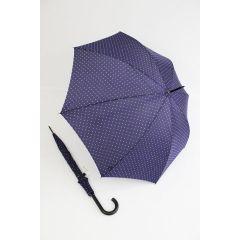 Happy Rain Regenschirm Stockschirm Dots lila