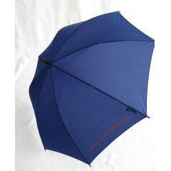 Benetton dunkelblauer Regenschirm Stockschirm blau