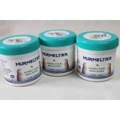 Hago Murmeltier & Kräuterbalsam 3 x 200 ml Murmeltierbalsam