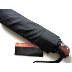 Pierre Cardin Automatik Regenschirm Noire schwarz Taschenschirm