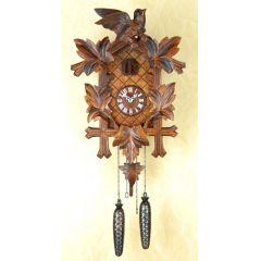 Orig. Schwarzwald- Kuckucksuhr- Vögel Blätter - Cuckoo Clock- handmade Germany Black Forest