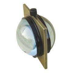 **Kugeluhr Windrose im Antikstil - Durchmesser 60 mm