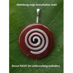 Donuthalter Spirale, Messing versilbert