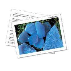 Infokarte / Mineralienkarte Chalcedon