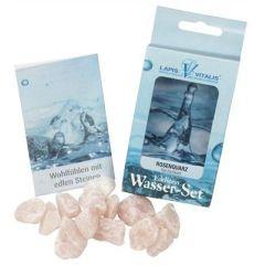 Wassersteine Rosenquarz - Herzlichkeit