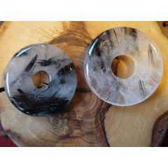 Donut Turmalinquarz, 30 mm