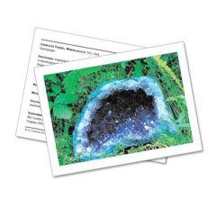 Infokarte / Mineralienkarte Amethyst