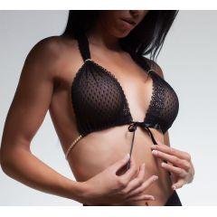 Bracli Perlen-BH BRACLI & G (G-Bra) in schwarz