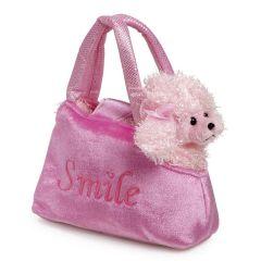 Pudel in der Tasche - Handtaschenhund - tolles Geschenk