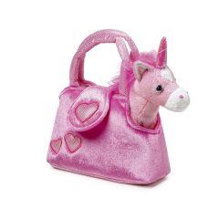 Einhorn in der Tasche - rosa und kuschelweich - tolles Geschenk