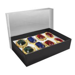 Ring - Kinderring mit farbigem Stein- größenverstellbar - Prunkring