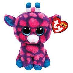 Beanie Boo´s Glubschi's Giraffe pink-blau ca. 15 cm  #36178
