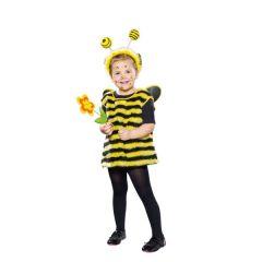 Bienchen - Kinderkostüm - Kostüm Kleine Biene - mit Kopfbügel