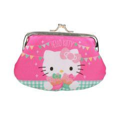 Hello Kitty Geldbörse mit Glitzer - Portemonnaie