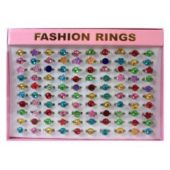 Ring - süsser Kinderring - Glitzerring in vielen Ausführungen
