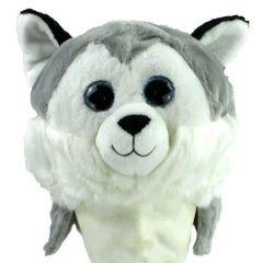 Mio Mio - MM Tiermütze Husky - für Erwachsene und Kinder