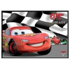 Memotafel - Lightning McQueen - Cars2 - aus Metall - ca. 35 x 25 cm