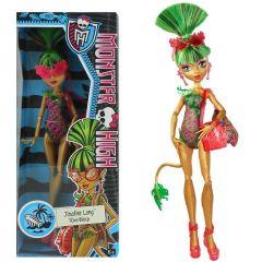 """Monster High """"Jinafire Long"""" Puppe - ca. 29 cm - Mattel Schwimmkollektion"""