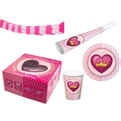 Party Box Prinzessin (Princess) - 19 Teile