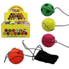 Ball am Band - Returnball - ca. 6 cm - in 4 Ausführungen