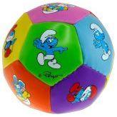 Softball - Die Schlümpfe - kleiner Kinderball - 10 cm
