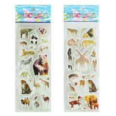 Sticker Wildtiere in zwei Ausführungen