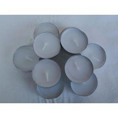 Schlichte Teelichter, 10 Stück