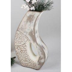 formano Deko-Vase Nizza mit Loch, 28 cm