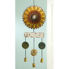 Windspiel Sonnenblumen, 90 cm
