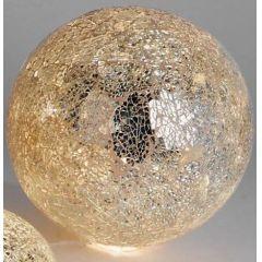 formano goldene Mosaik-Kugellampe inkl. Lichterkette