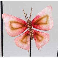 formano Gartenstecker Schmetterling in Rot, 16/65 cm