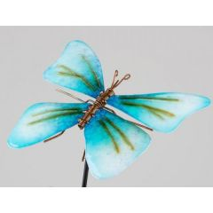 formano Gartenstecker Schmetterling in Blau, 22/85 cm