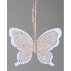 formano Deko-Hänger aus Metall Schmetterling, 17 cm