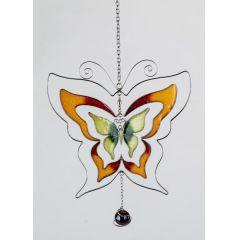 formano Hängedeko Schmetterling, orange, 17 cm