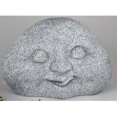 formano Dekofigur lustiger Steinkopf, steinfarben, 50 x 35 cm