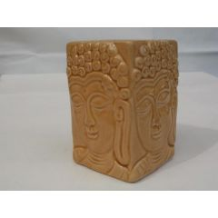 Duftlampe Buddha, eckig aus Keramik