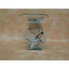 Duftlampe, Flasche aus Glas