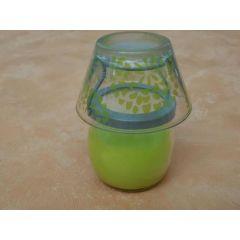 Kerzenlampe mit Lemongras Wachs 11 cm hoch