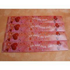 4 Päckchen Räucherstäbchen Herz