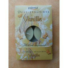 Duft-Teelichter Vanille 6 Stück