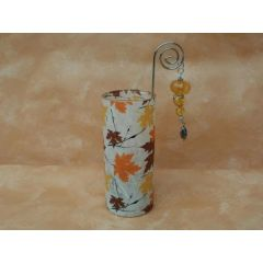 Teelichtröhre Ahornblatt