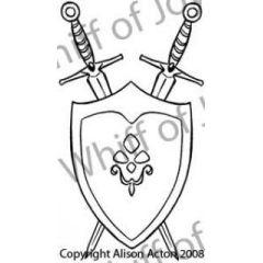 Schwert und Schild
