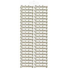 Sticker Einladung