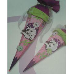 Schultüten Unicorn Einhorn  Bastel-Set Handarbeit oder als fertige Zuckertüte