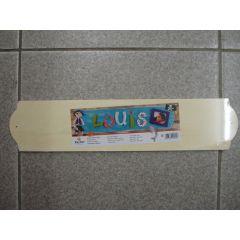 Holz Türschild lang 8 x 45 cm
