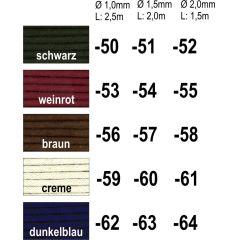 Lüstrierte Baumwollschnüre-SB Ware