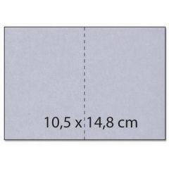 Karte / Umschlag C6  Rechteck perlmutt rosa