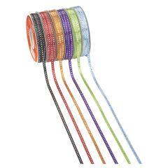 CREApop® Punkte irisierend, 6 mm Band in vielen Farben