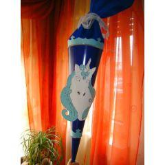 Schultüte BlueHorse  als Bastelset oder Fertige Zuckertüte in Handarbeit hergestellt